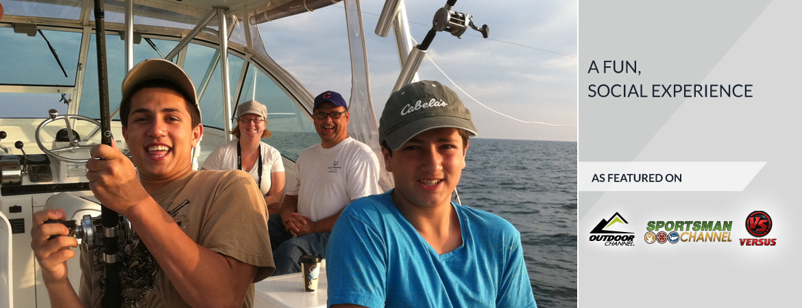 Lake Ontario Fishing Charter-Family Fun