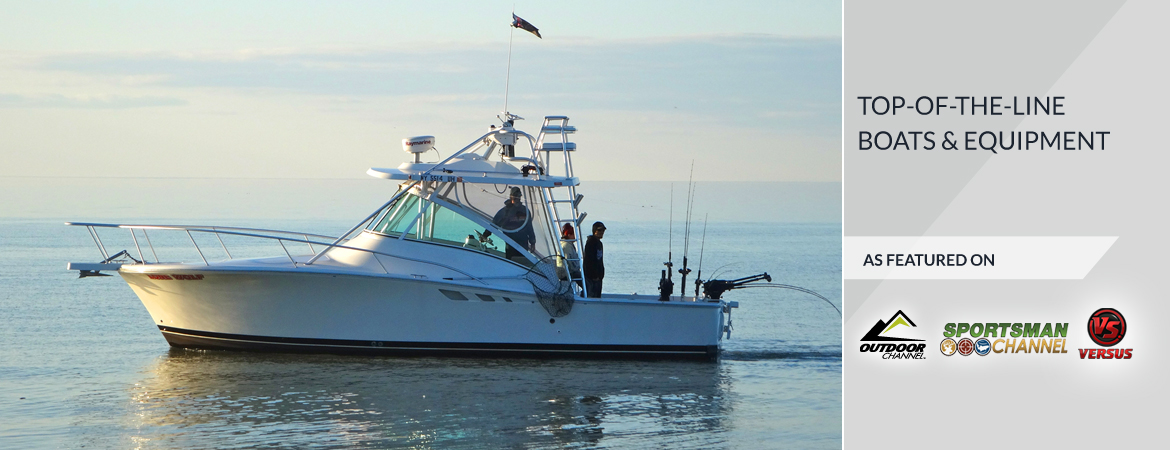 Lake Ontario Fishing Charters-Lone Wolf Luhrs 32 Open